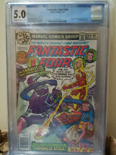 Fantastic Four 204 CGC 5.0 OFF-WHITE TO WHITE 1979 Super Skrull Marv Wolfman