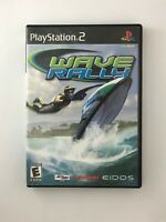 Wave Rally - Playstation 2 PS2 Game - Complete & Tested