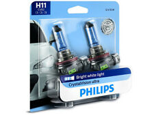 2x NEW PHILIPS CRYSTAL VISION H11 12362CVB2 HEADLIGHT / FOGLIGHT BULBS