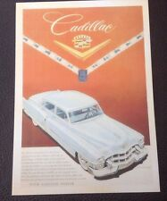 POSTCARD: CADILLAC: YOUR CADILLAC DEALER: UN POSTED