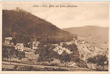 BG19159 lahn i schl blick auf ruine lehnhaus wlen poland