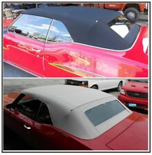 BUICK GS, SKYLARK, SPECIAL 68-72  CONVERTIBLE TOP+GLASS WINDOW - BLACK or WHITE