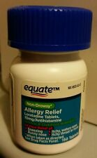 150 Equate Non-Drowsy 24 Hour Allergy Relief Tablets 10mg Loratadine 7/17