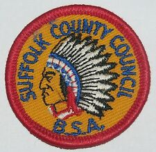 Suffolk Co Council (NY) R-1 Council Patch  BSA