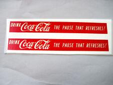 Buddy L GMC water slide coke decal set coca cola set