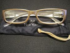 JM New York Reading Glasses +1.50 Champagne Gold NEW Spring Hinged Joy Mangano