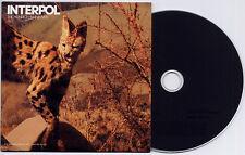INTERPOL The Heinrich Maneuver 2007 UK 1-track promo CD