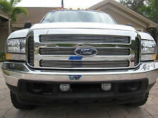 FORD CHROME GRILLE CONVERSION FITS 1999-2004 SUPER DUTY 2005 2006 2007 F250 F350