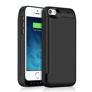 TQTHL 4800MAH BACKUP BATTERY CHARGER EXTENDED POWER CASE COVER FOR IPHONE 5 5S