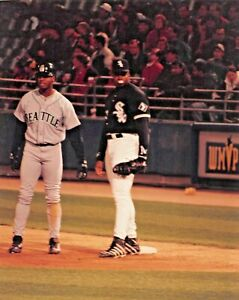 Ken Griffey Jr. Seattle Mariners & Frank Thomas Chicago White Sox 8x10 Photo