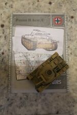 Axis & Allies Miniatures Base Set 31 Panzer II Ausf. C R w/Card