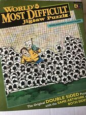 World's Most Difficult Jigsaw Puzzle-Soccer- Goalkeepers Nightmare--529 pieces