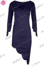 Vestiti da donna blu asimmetrici senza marca