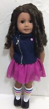 "American Girl 18"" Dolls Lot Truly Me #44 Outfits Clothing Medium Skin Curly Hair"