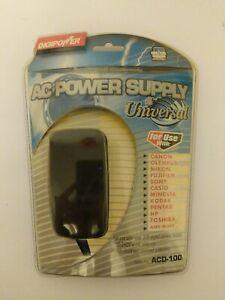 Digipower AC Camera Power Supply ACD-100 100-240V World Wide Use