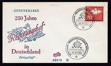 Briefmarken aus der BRD (ab 1948) mit Ersttagsbrief für Geschichte