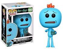 Exclusivo Rick & Morty- Sr. meeseeks CON CAJA 9.5cm POP Vinyl Figura Funko 180