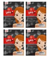 Yes To Tomatoes Detoxifying Charcoal DIY Powder to Clay Mask 1 Ct (4 Pack)