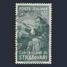 1937 Italia Regno Uomini Illustri Stradivari L. 2,55 + 2 verde gr. n. 434 Usato