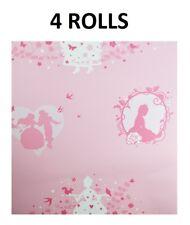 Fairies Fairy Princess Pink Silver Kids Childrens Girls Wallpaper 20005