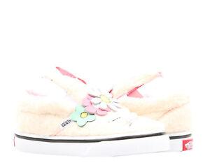 Vans Slip On V Bunny Flower Crown Toddler Kids Low Top Sneakers VN0A3MTZVJ8