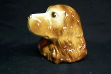 Vintage ROYAL COPLEY COCKER SPANIEL Wall Pocket/Planter
