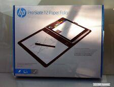 HP Pro Slate 12 Paper Folio Case, Hülle, Tasche, Mikrofaser Polyurethan, Schwarz