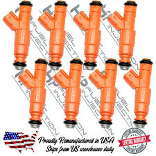 Best 3rd Gen 1Genuine Bosch 4 Hole Fuel Injectors Ford Lincoln 2005-2007 5.4L V8