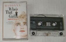 MADONNA (K7 AUDIO) WHO'S THAT GIRL
