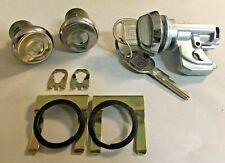 NEW 1970-1976 Chevrolet El Camino Door & Glove Box Compartment lock Set- GM keys