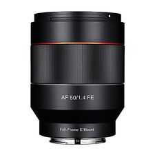 New Samyang Optics AF 50mm F1.4 FE Lens For Sony E Mount
