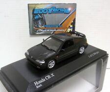 Honda CR-X 1989 1/43 Minichamps (Black)