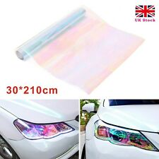 300X 2100mm Chameleon Clear Tail Tint Car Van Fog Light Headlight Vinyl Film