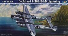 Trumpeter 1:32 Lockheed P-38L-5-LO Lightning Plastic Model Kit TSM2227