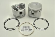 Set of 4 Engine Pistons W/Rings ITM RY6417-030