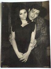 Rare Bollywood Actor Poster - Shammi Kapoor - Sharmila Tagore 12 inch X 16 inch