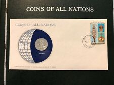 BAHAMAS 25 CENTS 1979 COINS OF ALL NATIONS VINTAGE, NEW