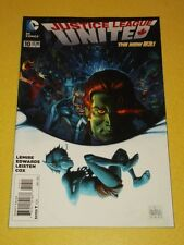 JUSTICE LEAGUE UNITED #10 DC COMICS NEW 52 NM (9.4)