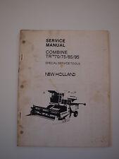 New Holland TR70 TR75 TR85 TR95 Combine Harvester Shop Service Repair Manual SST