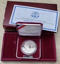 1999-P DOLLEY MADISON Proof Silver Dollar Commemorative Coin w/ Box & COA