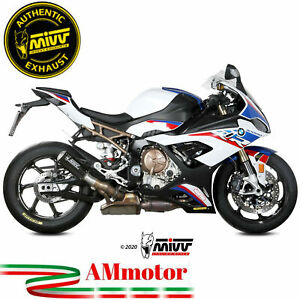 Mivv Bmw S 1000 RR 2020 Terminale Di Scarico Moto Marmitta Mk3 Carbonio