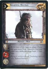Lord Of The Rings CCG TCG Expanded Middle Earth Card 14R11 Swarming Hillman