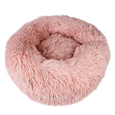 Pet Dog Cat Calming Bed Round Nest Warm Soft Plush Sleeping Bag Comfy Flufy Hot!