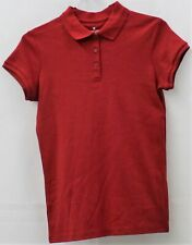 Chaps Girls Approved Schoolwear Red Shirt Xl(16)