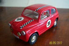 SCALEXTRIC SEAT 600 TC EXIN ROJO 2ª Serie. MADE IN SPAIN
