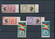 LL97256 Burundi 1962 imperf independence fine lot MNH