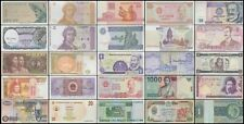 New listing World Currency - Uncirculated Banknote Set - Lot of 25