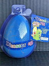 Large Hatching Dinosaur Egg Hatches & Grows In Water - Blue & Silver