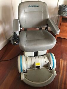 Hoveround mpv5 power wheelchair, rotating seat, arms adjust  LOCAL PICK UP ONLY