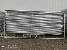 FARM GATE 14' (4180mm x 1150), steel, 200x100mm mesh (approx)